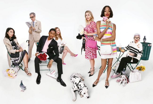 Kate Spade New York Spring 2016 ad campaign