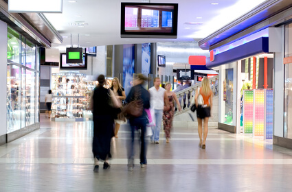 Store Traffic Numbers Show Shoppers May be Returning to Malls