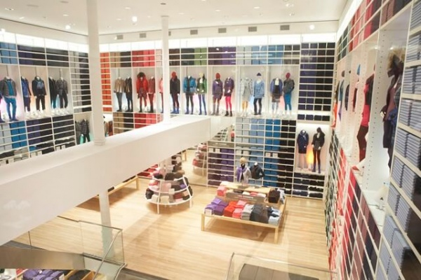 Uniqlo Soho New York flagship store
