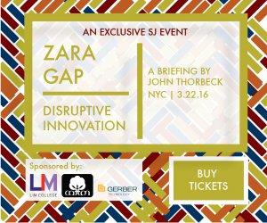 2016 Zara Gap Workshop