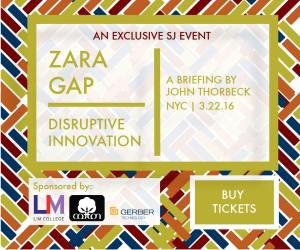 2016 Zara Gap Workshop