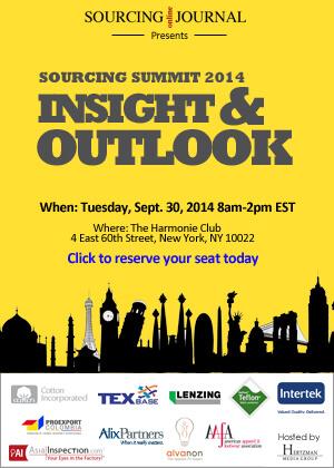 2014 Sourcing Journal Summit