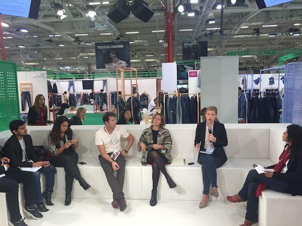 Circular Economy Talk at Texworld Paris.