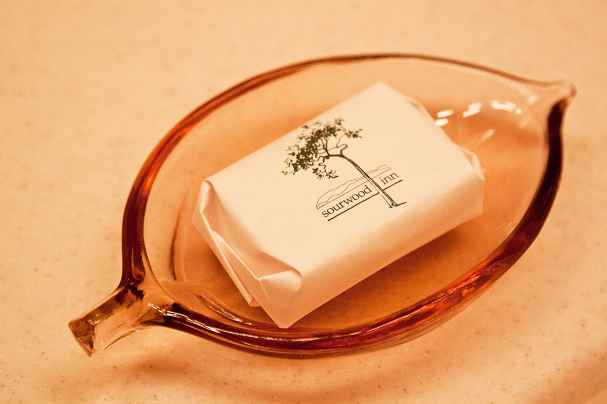 Sourwood branded Soap dish