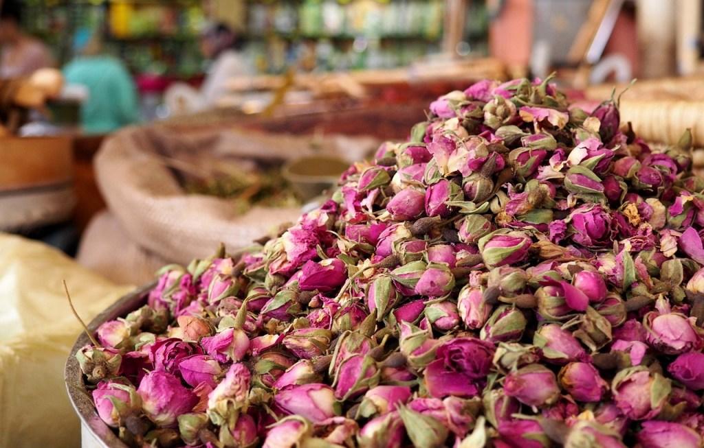 Les roses de Damas du Maroc