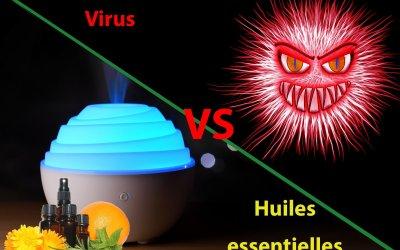 Lutter contre les virus avec les huiles essentielles