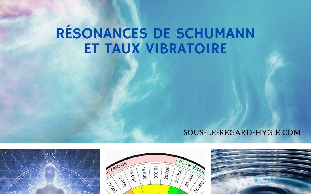 Résonances de Schumann et taux vibratoire