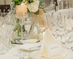 結婚式の席札のメッセージ例文
