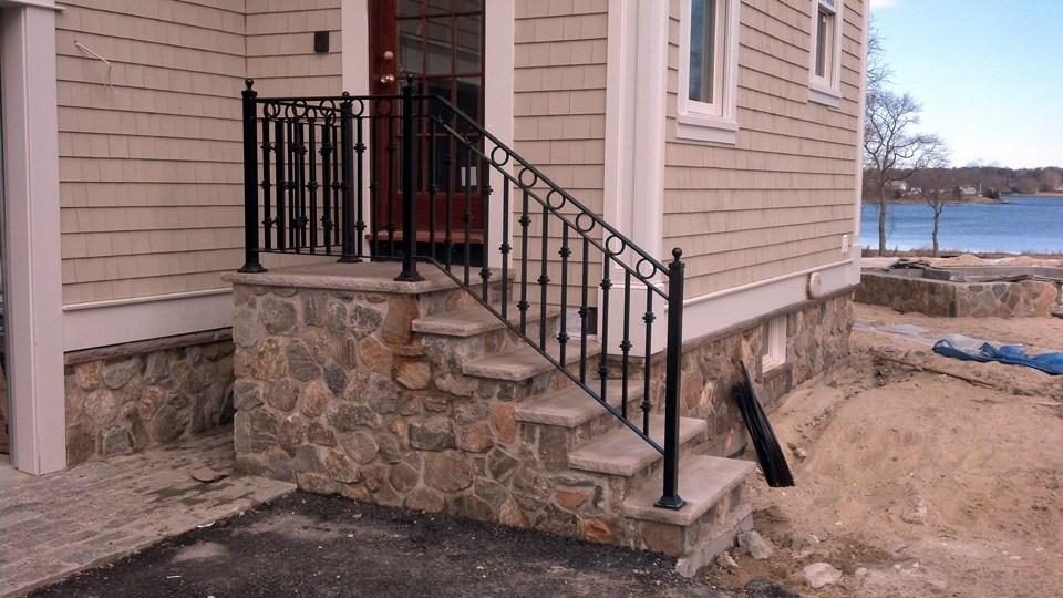 Wrought Iron Railings Ma Ri Custom Iron Hand Rails Ornamental | Outdoor Wrought Iron Stair Railing Near Me | Aluminum Railings | Railing Steel | Front Porch Railings | Railing Designs | Custom
