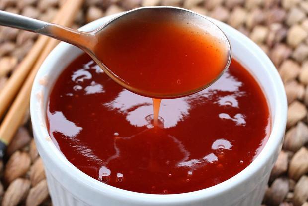 Ингредиенты для приготовления вкусного кисло-сладкого соуса