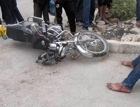 """الدراركة: """"طروطوار"""" يتسبب في انقلاب دراجة نارية"""