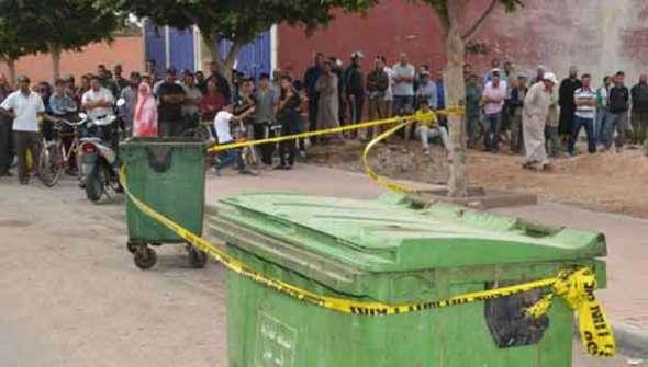 ايت ملول : نتائج تشريح الجثة التي وجدت بحاوية الأزبال تؤكد تعرضها لعملية خنق