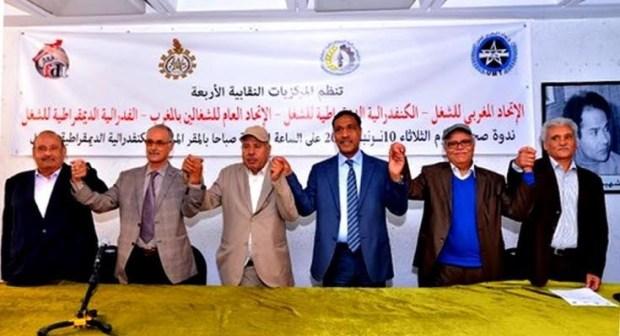 وزير الداخلية يلتقي النقابات ويستمع لمطالبها