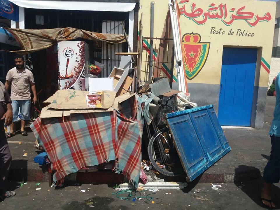 انزكان: حملة وقائية واسعة على المطاعم العشوائية بالمحطة بمناسبة العيد