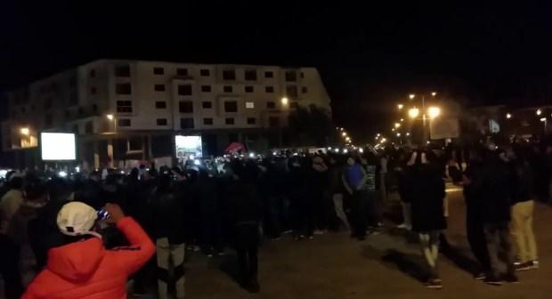 فيديو: وجدة تحتفل بفوز المنتخب