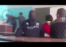 أستاذ يتعرض للضرب من طرف تلميذه بثانوية عبد الله الشفشاوني بأولاد تايمة