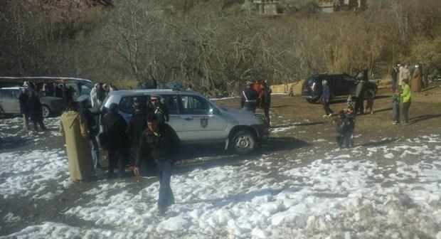 ورزازات: بعد أن حاصرتها الثلوج… ساكنة إمي نولاون تخرج في مسيرة احتجاجية