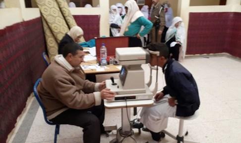 اشتوكة: استفادة ساكنة تنالت من قافلة طبية