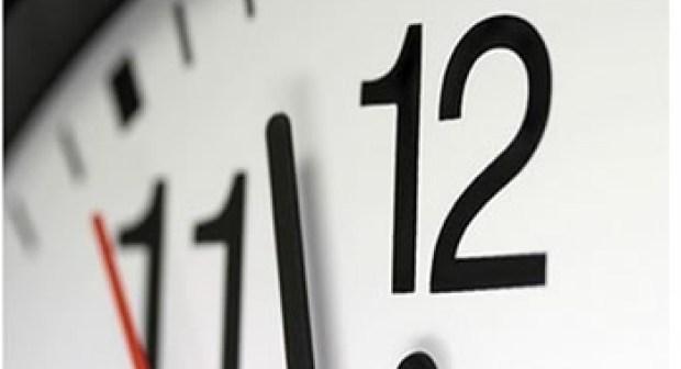 تأخير 60 دقيقة في 3 صباحا يوم غد الأحد