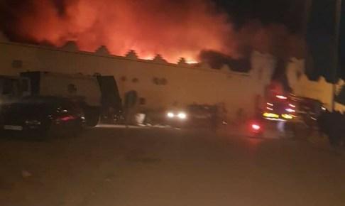 عاجل : سوق ثلاثاء انزكان يحترق