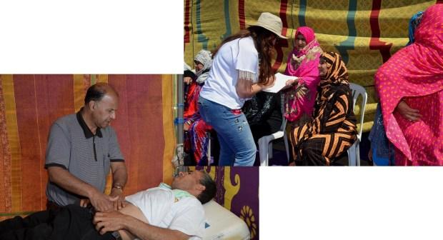 الرحمة في حملةطبيةمتعددة التخصصات لفائدة ساكنة العالم القروي بتارودانت