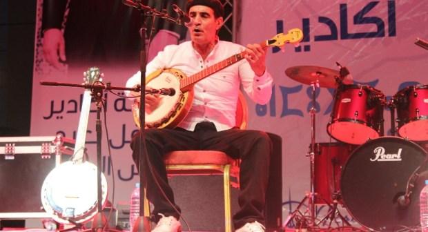 ازنزارن بعدسة دوزيم في مهرجان الهدى بأكادير