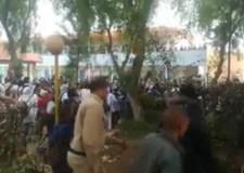 """"""" إعفاء عساس"""" وراء اعتصام تلاميذي وأعمال تخريب بثانوية جمال الدين الأفغاني بأكادير"""