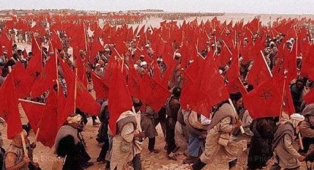 مشاهد وطنية حماسية نادرة من المسيرة الخضراء