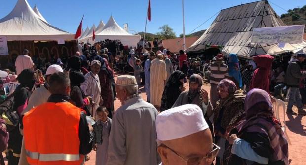 تارودانت: 1430 مستفيد من الفحص والأدوية في القافلة الطبية لجماعة امالو  ومؤسسة الحاج اشنكلي