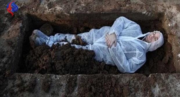 سابقة: تسلموا جثته من الشرطة فدفنوه وترحموا عليه وبعد شهرين يعود للحياة