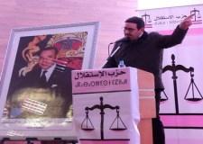 عبد الصمد قيوح يقصف حكومة العثماني من أولاد تايمة