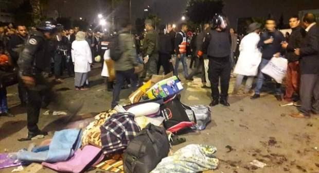 تفكيك معتصمات الأساتذة يخلف اصابات واعتقالات بعدة مدن مغربية