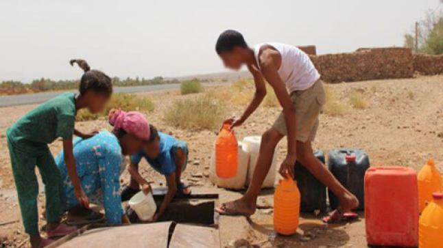 حصة المغاربة من المياه في تراجع