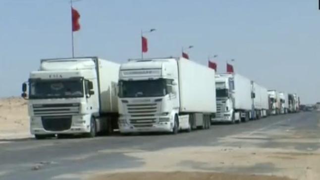 بالفيديو : بعد دحر بلطجية البوليزاريو…مغاربة في طريق العودة