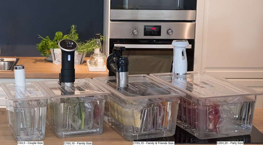 Best Sous vide container