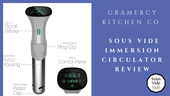 Gramercy sous vide immersion circulator