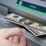 新札を銀行の両替機で手に入れた