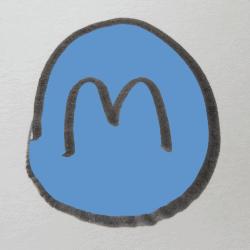 """""""M""""アイコン"""