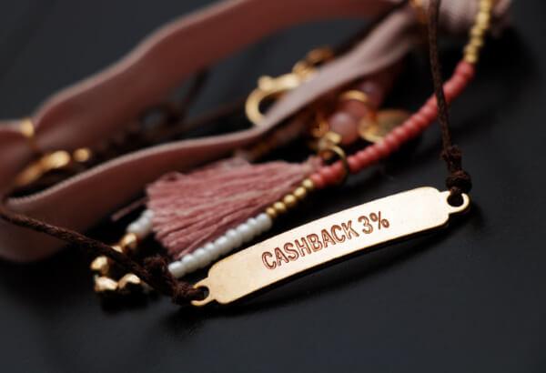 cashoback 3%