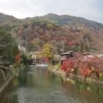 平日のセミリタイア小旅行(京都・嵐山の紅葉)
