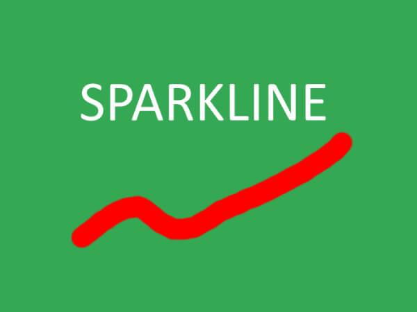 SPARKLINE関数