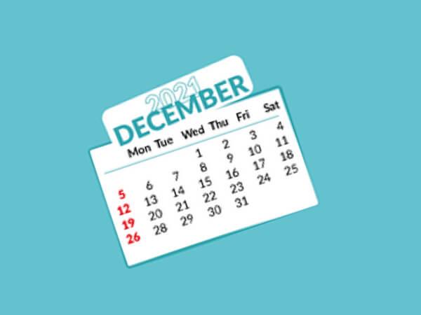 calendar 2021.12