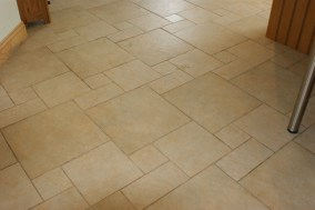 Ceramic Tile and Grout Before