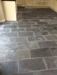 Tile Cleaning  Removing Varnish from Slate Tiles