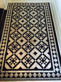 Victorian Black and White Tiles Cleaned and Sealed in ...