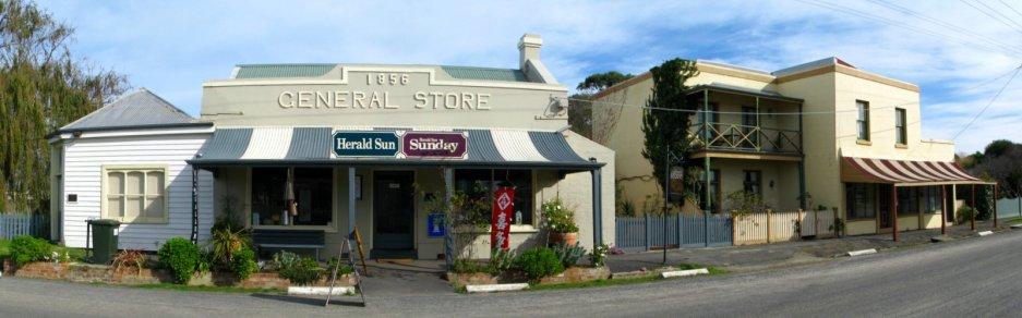 Port Albert General-Store-panorama