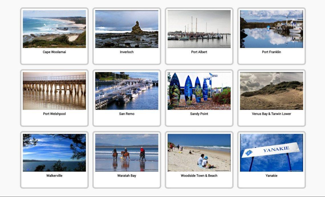 South Gippsland Coastal Towns