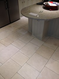 Deep Cleaning Dirty Travertine Kitchen Tiles   Stone ...