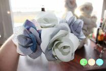 Paper & Ribbon Roses