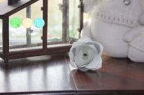 Paper/Ribbon Rose